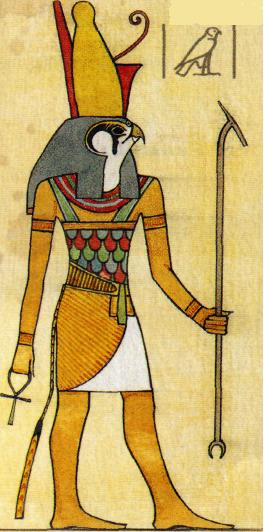 Risultati immagini per horus dio egizio